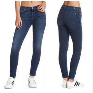 7 for All Mankind Gwenevere Ankle Skinny Jeans 25